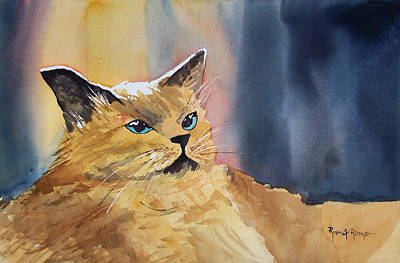 Painting - Fat Cat by Ryan Radke