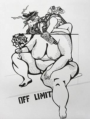 Drawing - Fat Chance by Yelena Tylkina