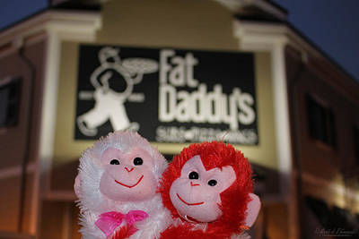 Fat Daddys Is For Bears Original by Robert Banach