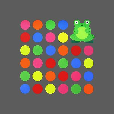 Multi Colored Painting - Discofrog Remix by Oliver Johnston