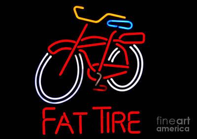 Fat Tire  Art Print