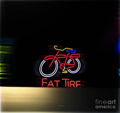 Digital Art - Fat Tire  by Steven Digman