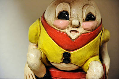 Humpty Dumpty Photograph - Fatalist by Jan Amiss Photography