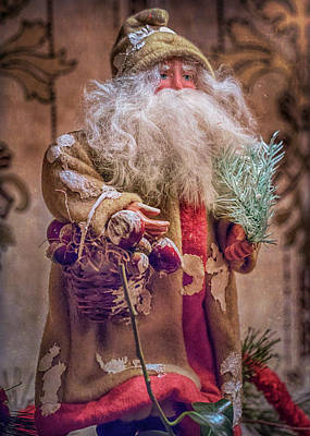 Photograph - Father Christmas by Susan Rissi Tregoning