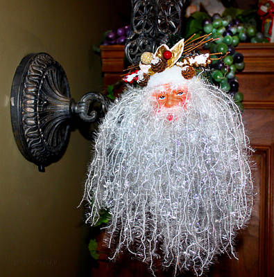 Photograph - Father Christmas by Susan Vineyard
