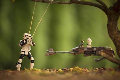 Lego Star Wars Digital Art - Father Son Time by Matt Ferris