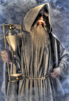 Father Time Photograph - Father Time by Don Wolf
