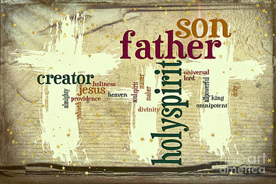 Photograph - Father Words by Jean OKeeffe Macro Abundance Art