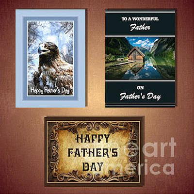 Digital Art - Father's Day by JH Designs