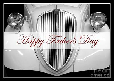 Photograph - Father's Day Vintage Auto by Patricia Strand