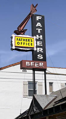 Photograph - Father's Office by Gene Parks