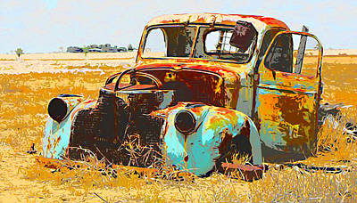 Other Automobiles Digital Art - Fatiguated by Lawrence O'Toole