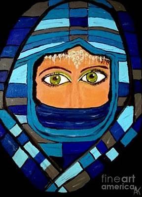 Fatima Painting - Fatima by Aat Kuijpers