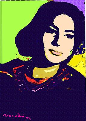 Fatima Art Print by Noredin Morgan