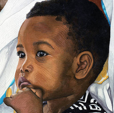 Painting - Fatima's Son by Hollis Chatelain
