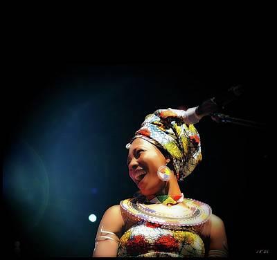 Photograph - Fatoumata Diawara by Jean Francois Gil