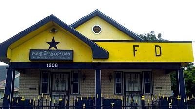 Photograph - Fats Domino Residence Lower 9th Ward by Michael Hoard
