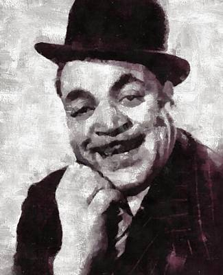 Musicians Royalty Free Images - Fats Waller, Musician Royalty-Free Image by Esoterica Art Agency