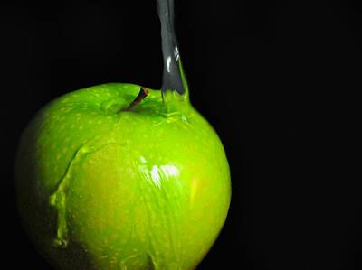 Photograph - Granny Smith Green by Diana Angstadt