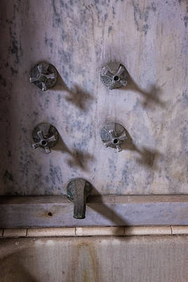 Photograph - Faucet Shadows by Tom Singleton