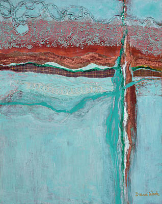 Painting - Faultline by Diana Wade