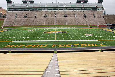 Photograph - Faurot Field by Steve Stuller