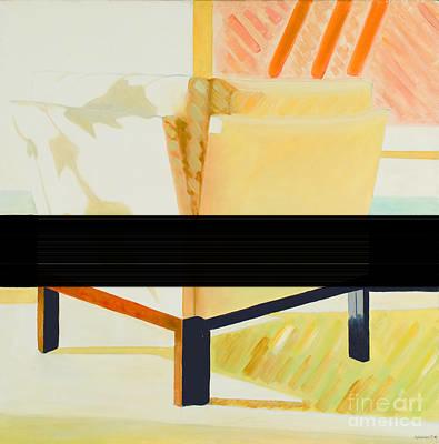 Painting - Fauteuil Cube by Krzis-Lorent Frederique