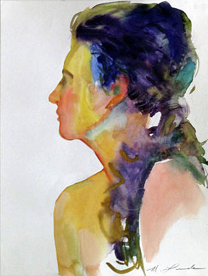 Painting - Fauve Profile by Mark Lunde