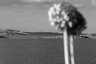 Photograph - Favaritx Lighthouse Far Far Away Black And White by Pedro Cardona Llambias
