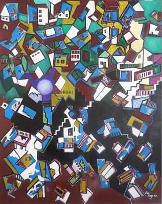 Painting - Favela Hilux by Adalardo Nunciato  Santiago