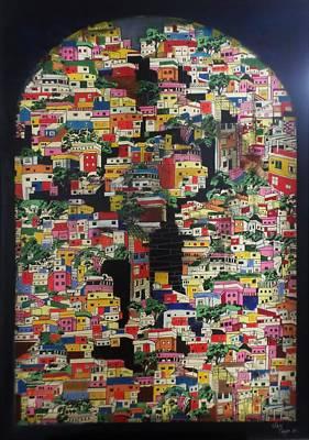 Painting - Favelas Revival by Adalardo Nunciato  Santiago