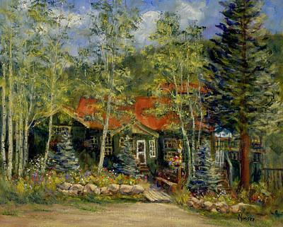Painting - Fawnbrook Inn by Jill Musser