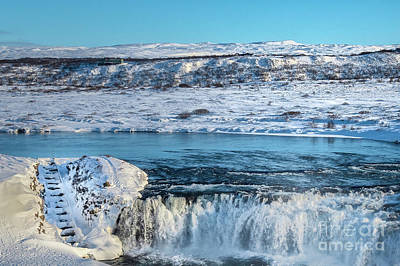 Photograph - Faxi Vainsleysufoss - Waterfalls Iceland by Maggie Magee Molino