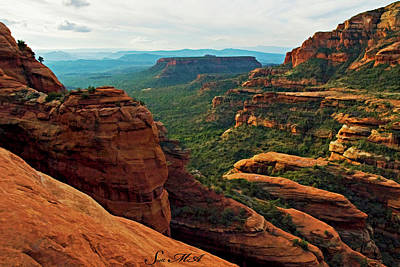 Photograph - Fay Canyon 04-061 by Scott McAllister