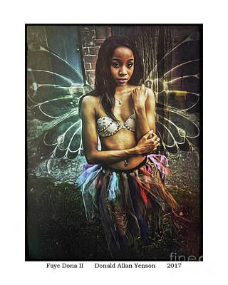 Faye Dona II Art Print by Donald Yenson