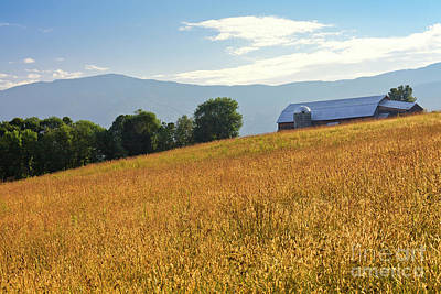 Photograph - Fayston Vermont Countryside by Alan L Graham