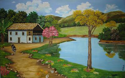 Painting - Fazenda by Shanta Rathie