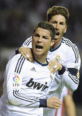 Athletes Royalty-Free and Rights-Managed Images - Cristiano Ronaldo 11 by Rafa Rivas