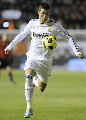 Cristiano Ronaldo Photograph - Cristiano Ronaldo 23 by Rafa Rivas