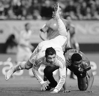 Athletes Photos - Cristiano Ronaldo 18 by Rafa Rivas