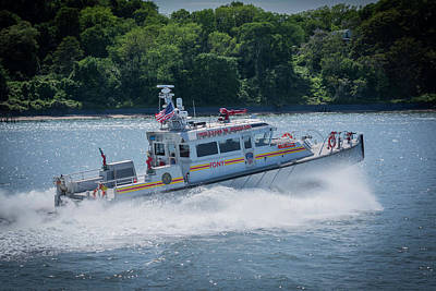 Photograph - Fdny Fire Boat by Kenneth Cole