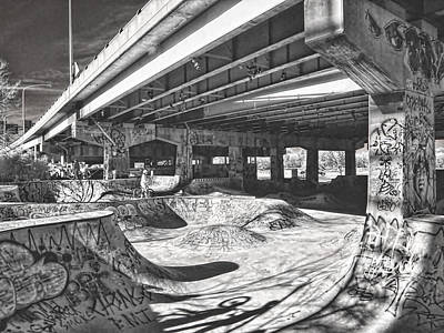 Photograph - Fdr Skate Park by Fred Moore