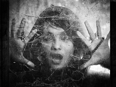 Face Wall Art - Photograph - Fear! by Joey Bangun