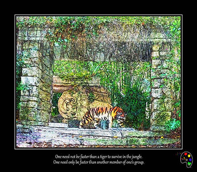 Photograph - Fear Of Tigers by Mickey Wright