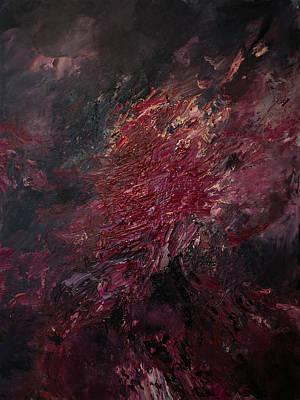 Painting - Fear Series, IIi by Daniel Hannih