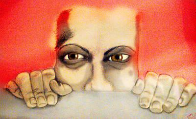Fear Art Print by Yvonne Lopez