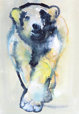 Paws Painting - Fearless by Mark Adlington