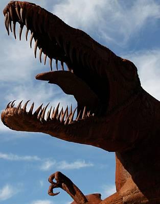 Photograph - Fearsome Dinosaur by Cheryl Dean