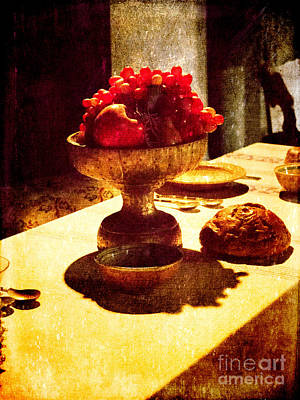 Photograph - Feast In Turin's Borgo Medievale by Brenda Kean