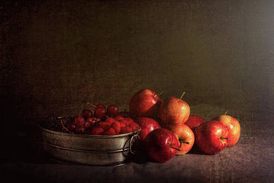 Feast Of Fruits Art Print by Tom Mc Nemar